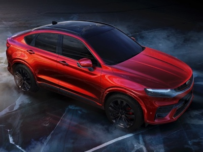Geely's new Sports Coupe SUV unveiled