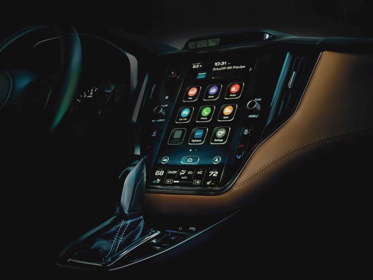 Subaru Legacy 2020 interni