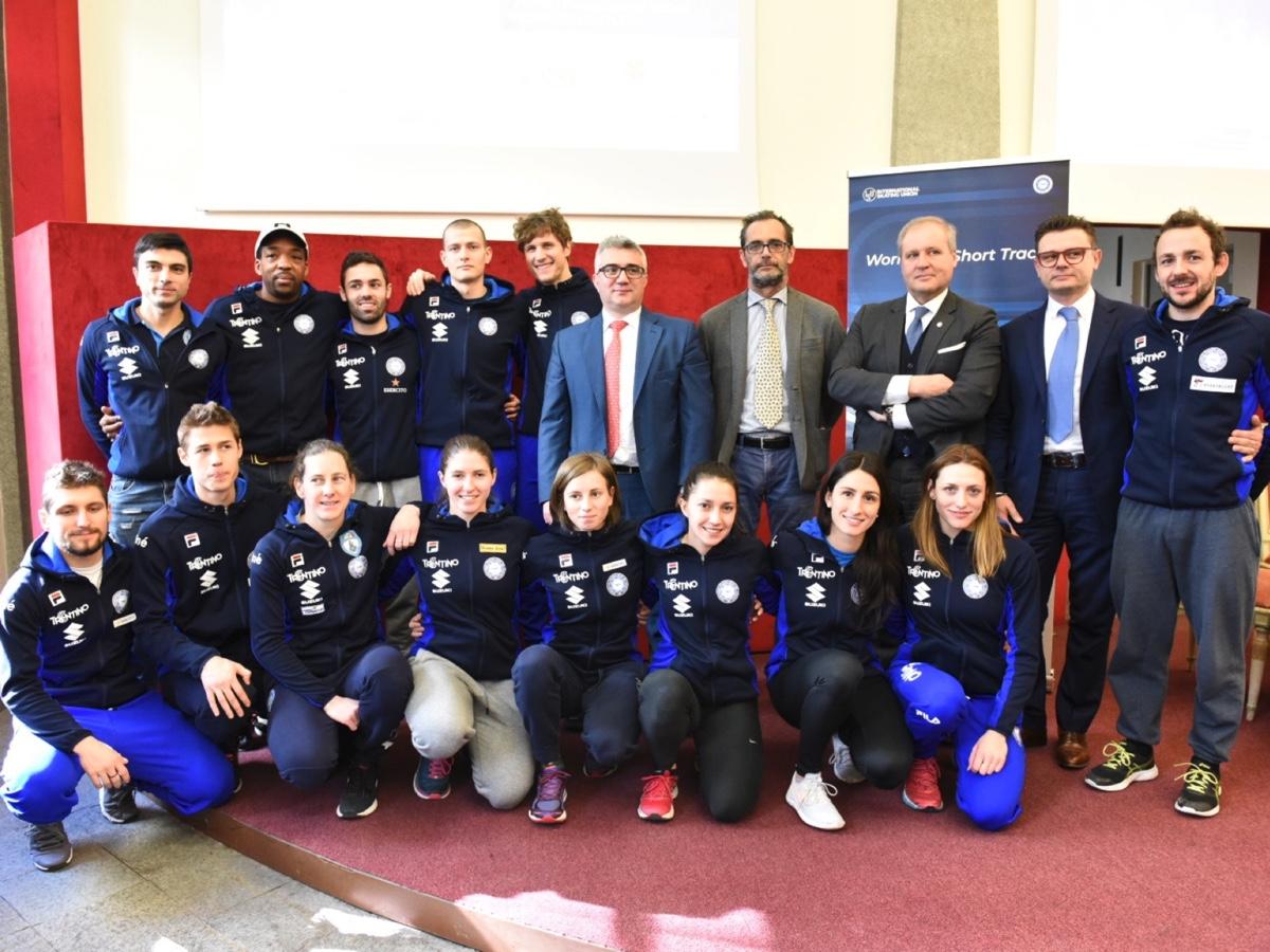 Suzuki è main national sponsor dell'ISU Short Track Speed Skating World Cup 2019