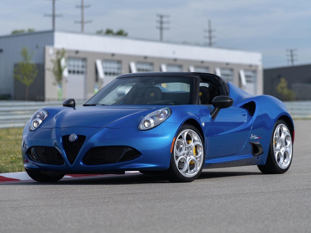 Alfa Romeo 4C spider Italia edizione limitata