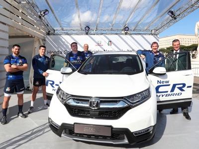 Honda è sponsor ufficiale della Nazionale italiana di Rugby