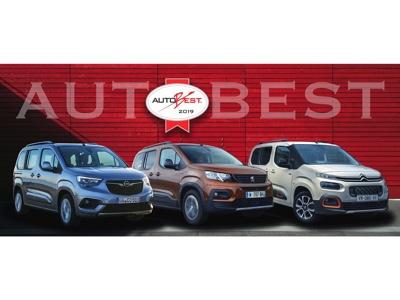I multispazio del Gruppo PSA premiati Best Buy Car of Europe 2019