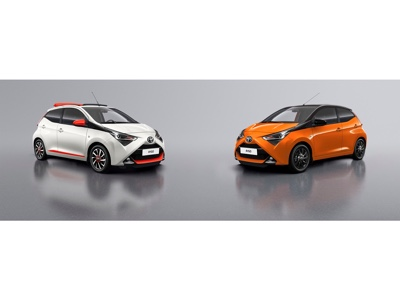 Le serie speciali x-style e x-cite di Toyota Aygo debutteranno al Salone di Ginevra