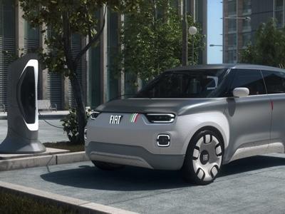 Fiat Concept Centoventi alla festa dei motori di Modena