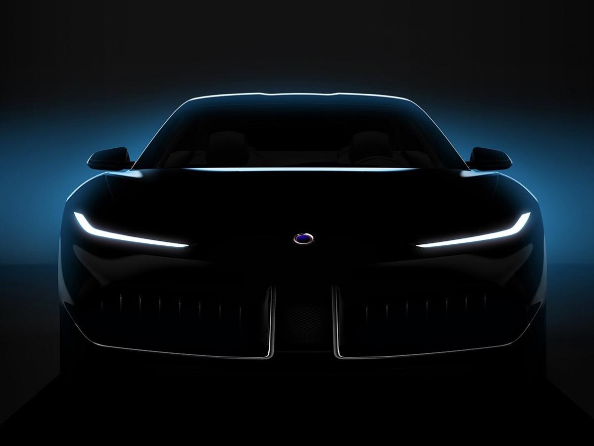 Karma primo teaser concept creata in collaborazione con Pininfarina