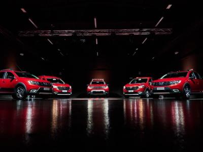 Dacia si veste di rosso con la serie speciale Techroad