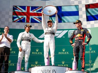 Formula Uno: trionfo Mercedes in Australia con Bottas
