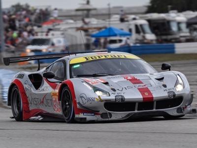 Ferrari protagonista a Sebring