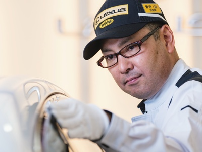 Lexus presents the first documentary about Takumi master craftsmen