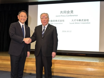 Toyota and Suzuki to start new global collaboration on EV and compact car