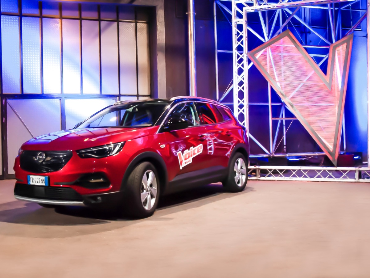 Opel partner di the Voice of Italy 2019