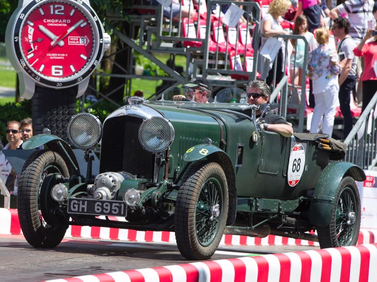 Bentley alla 1000 Miglia