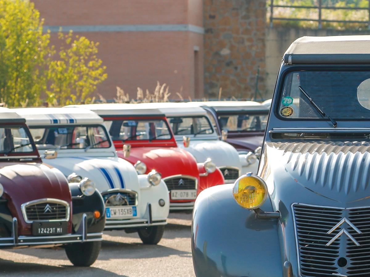 Citroen 100 auto storiche a Torino