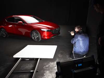 Rankin brings the All-new Mazda3 to life, with feeling
