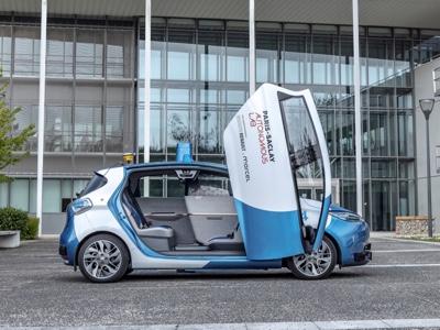 Renault e Paris-Saclay Autonomous Lab per nuovi servizi di mobilità urbana