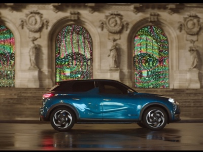 On air the international campaign for DS 3 Crossback