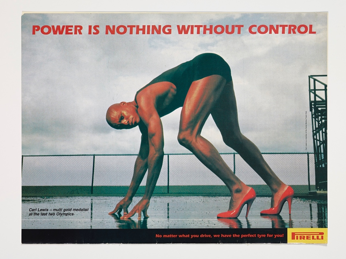 Pirelli Power is nothing without control - Carl Lewis