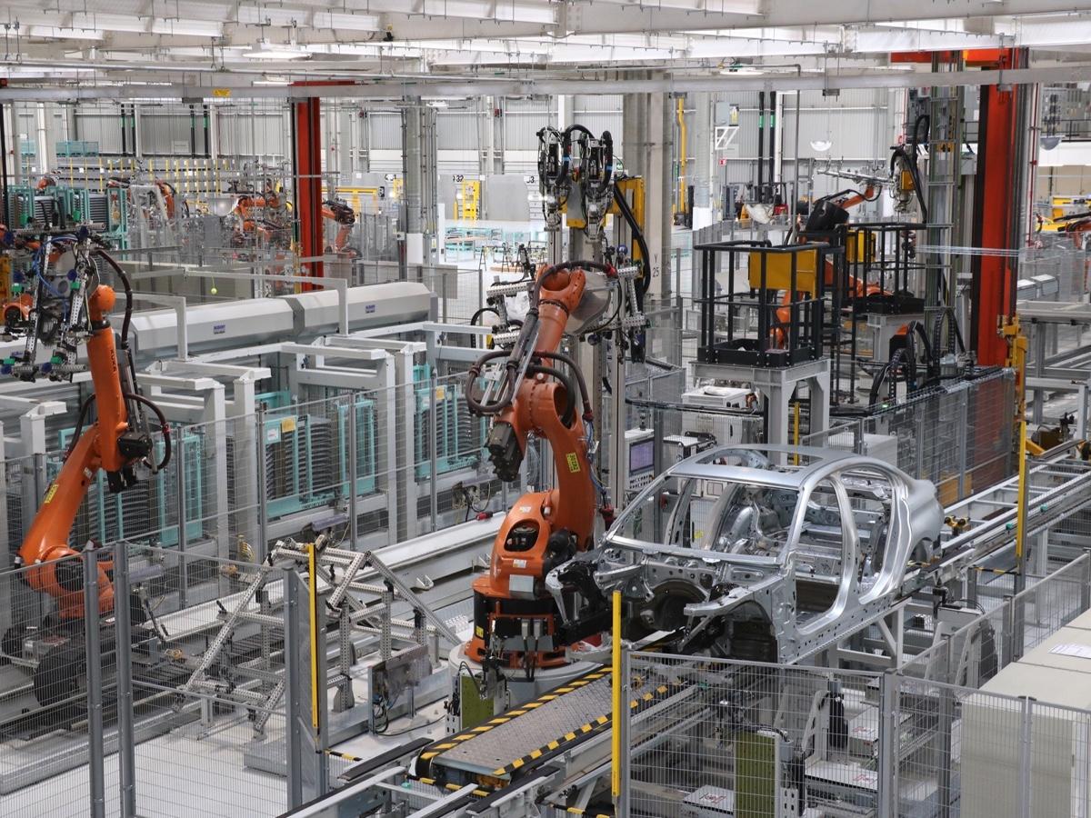 BMW fabbrica San Luis Potosi Messico