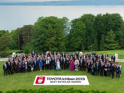 Ichiban 2019: the best european Toyota retailers rewarded