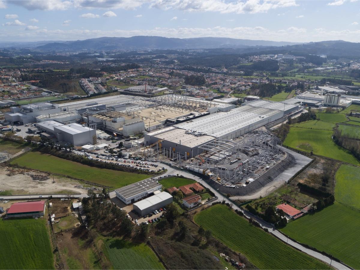 Continental fabbrica di Lousado, Portogallo