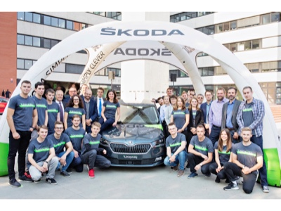 Škoda to launch car-sharing service for british students