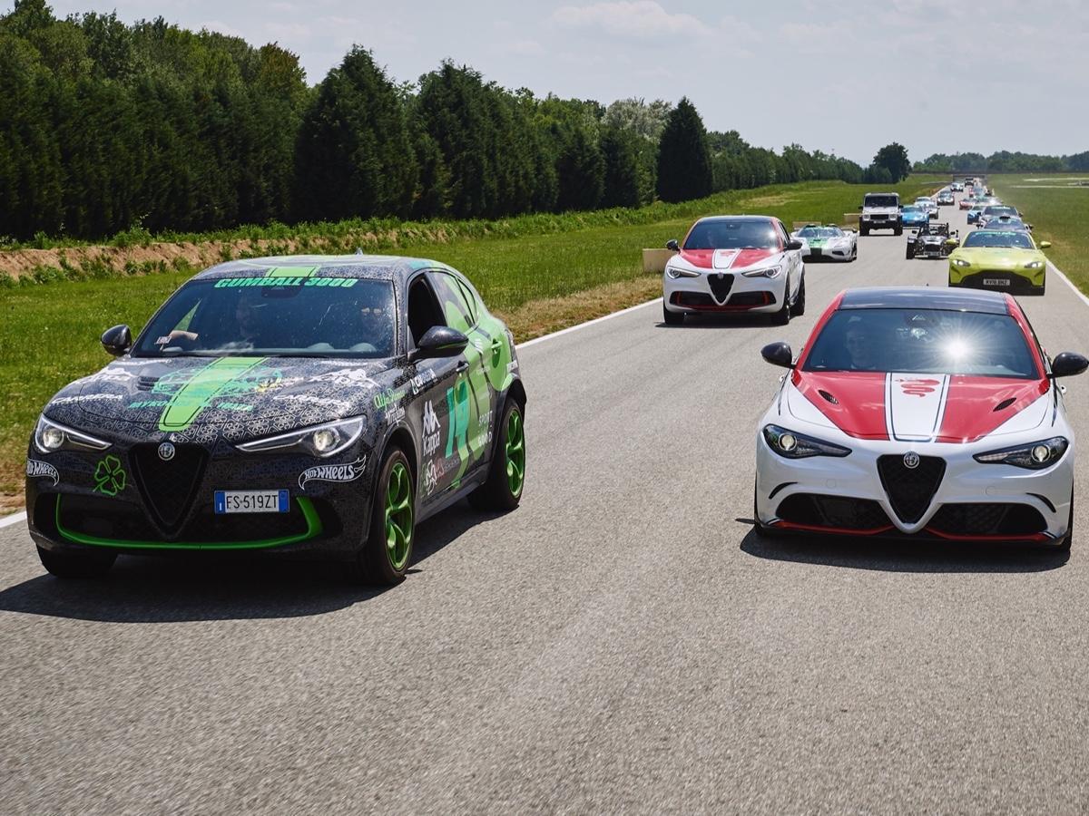 Alfa Romeo Gumball 3000 Balocco