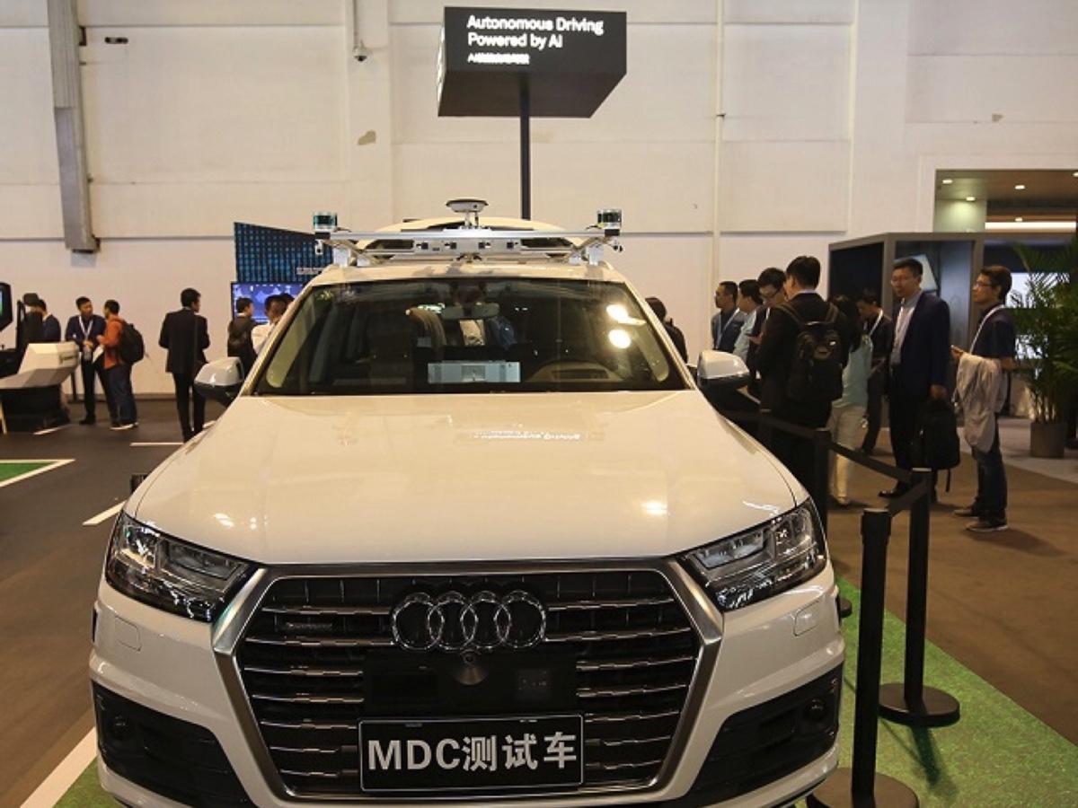 Audi Q7 - Huawei auto a guida autonoma