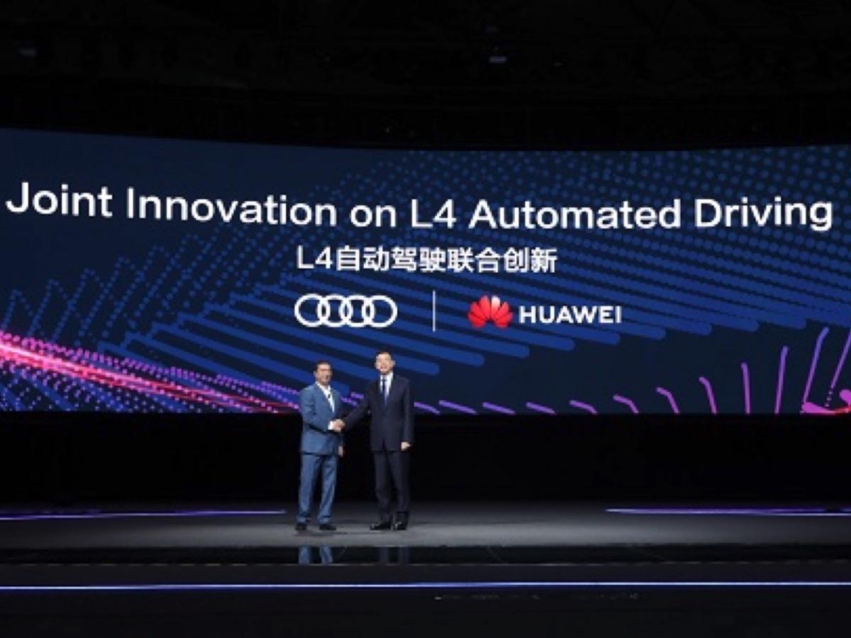 Audi e Huawei collaborano per l'auto a guida autonoma