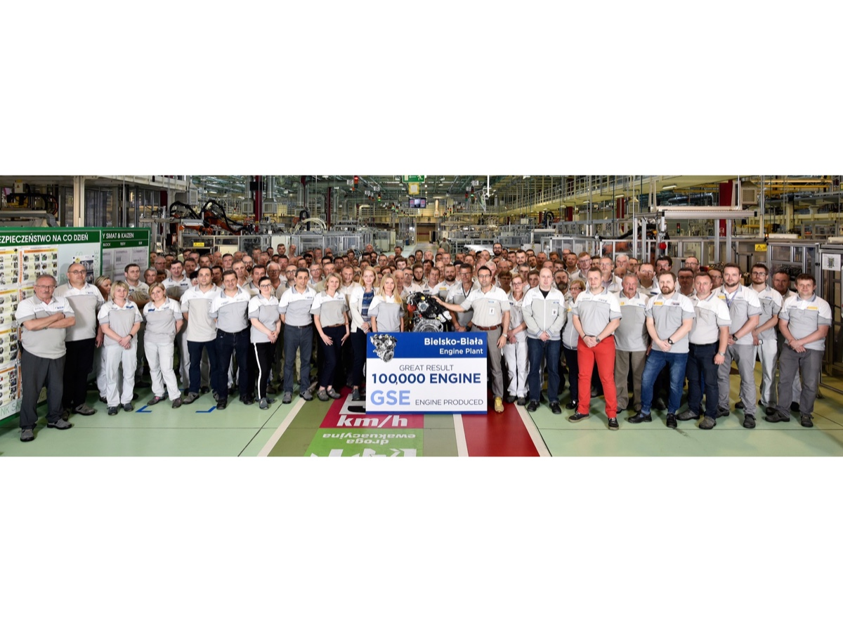 FCA festeggia 100.000 motori FireFly Turbo