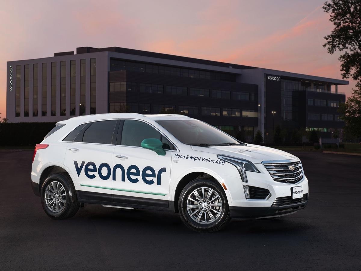 Veoneer dimostrazione sistemi Active Safety in Nord America