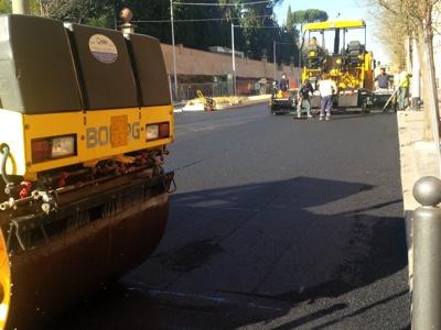 Lavori stradali al rallenty per mancanza di bitume