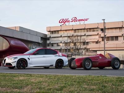 Alfa Romeo GP Tipo 159 Alfetta al GP di Formula 1 in Gran Bretagna