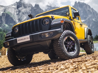 L'allestimento Mopar 100% street legal esalta la capability di Jeep Wrangler