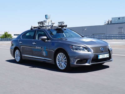 Toyota starts automated driving testing on urban public roads in Europe