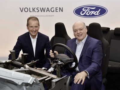 Ford in talks with Volkswagen to develop second EV in Europe