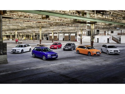 Audi Sport Is celebrating 25 years of the RS Models