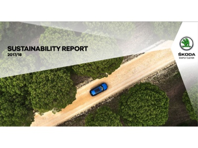 Škoda scores top marks for its sustainability-related commitment and strategically responsible conduct