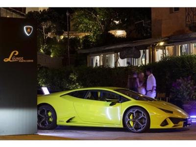 A new Lamborghini Lounge in Porto Cervo