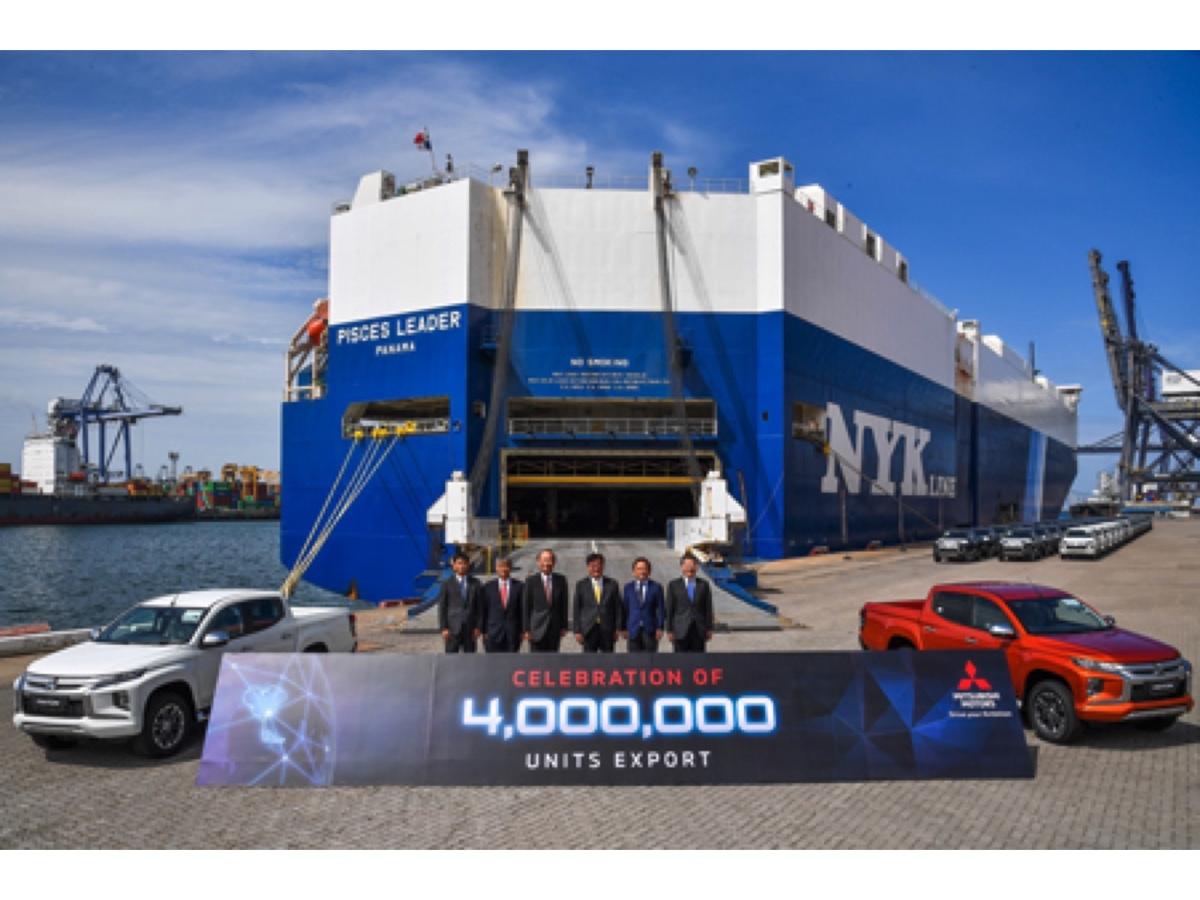 Mitsubishi 4 milioni di veicoli esportati dalla Thailandia