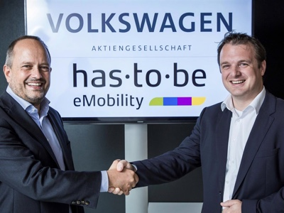 Volkswagen Group and has·to·be cooperate for expansion of charging infrastructure