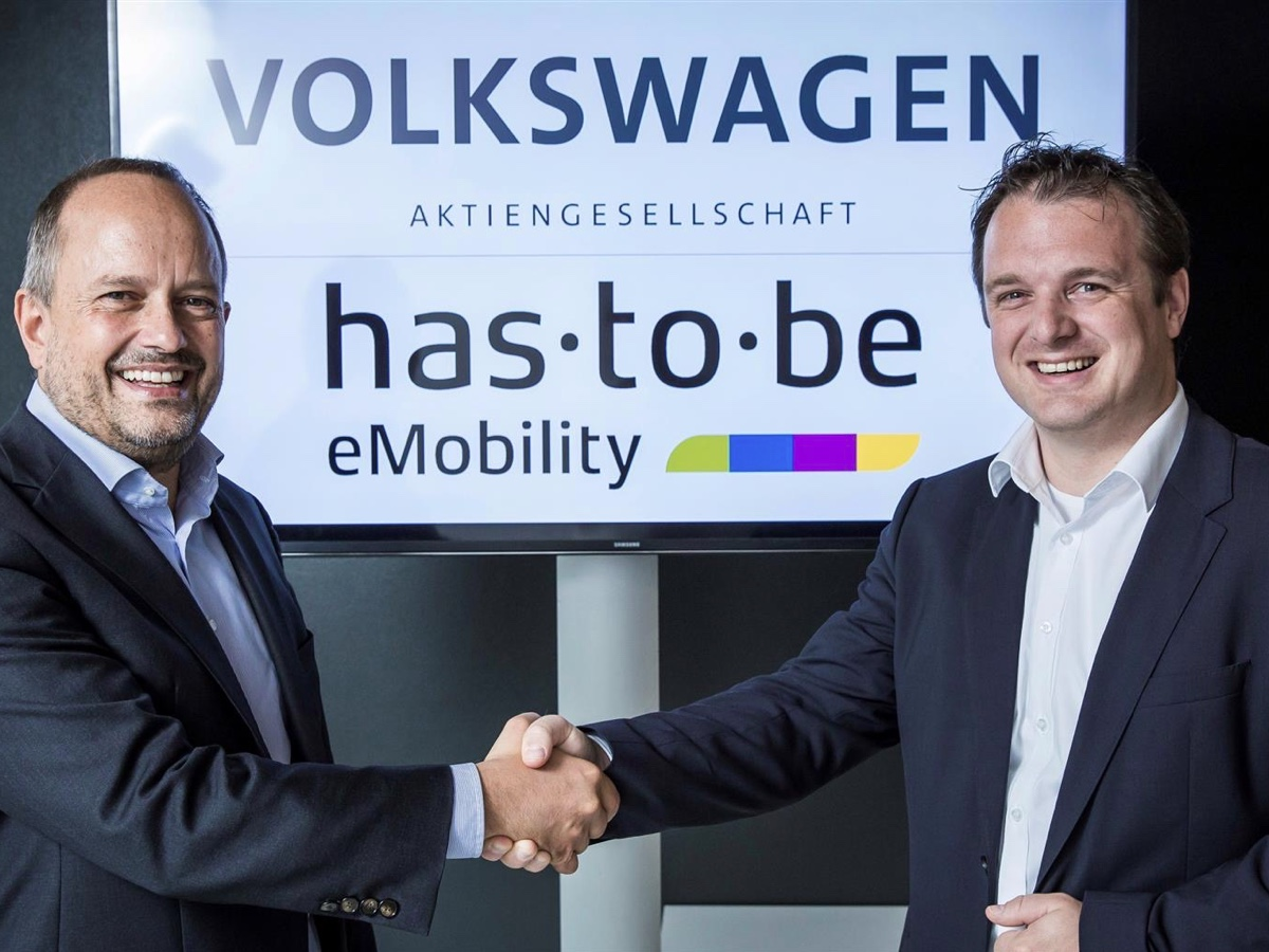 Volkswagen Group collabora con has·to·be