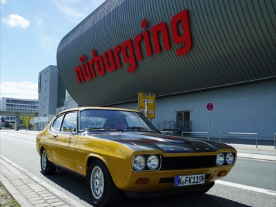 Ford celebrates the 50th anniversary of the iconic sport car Capri