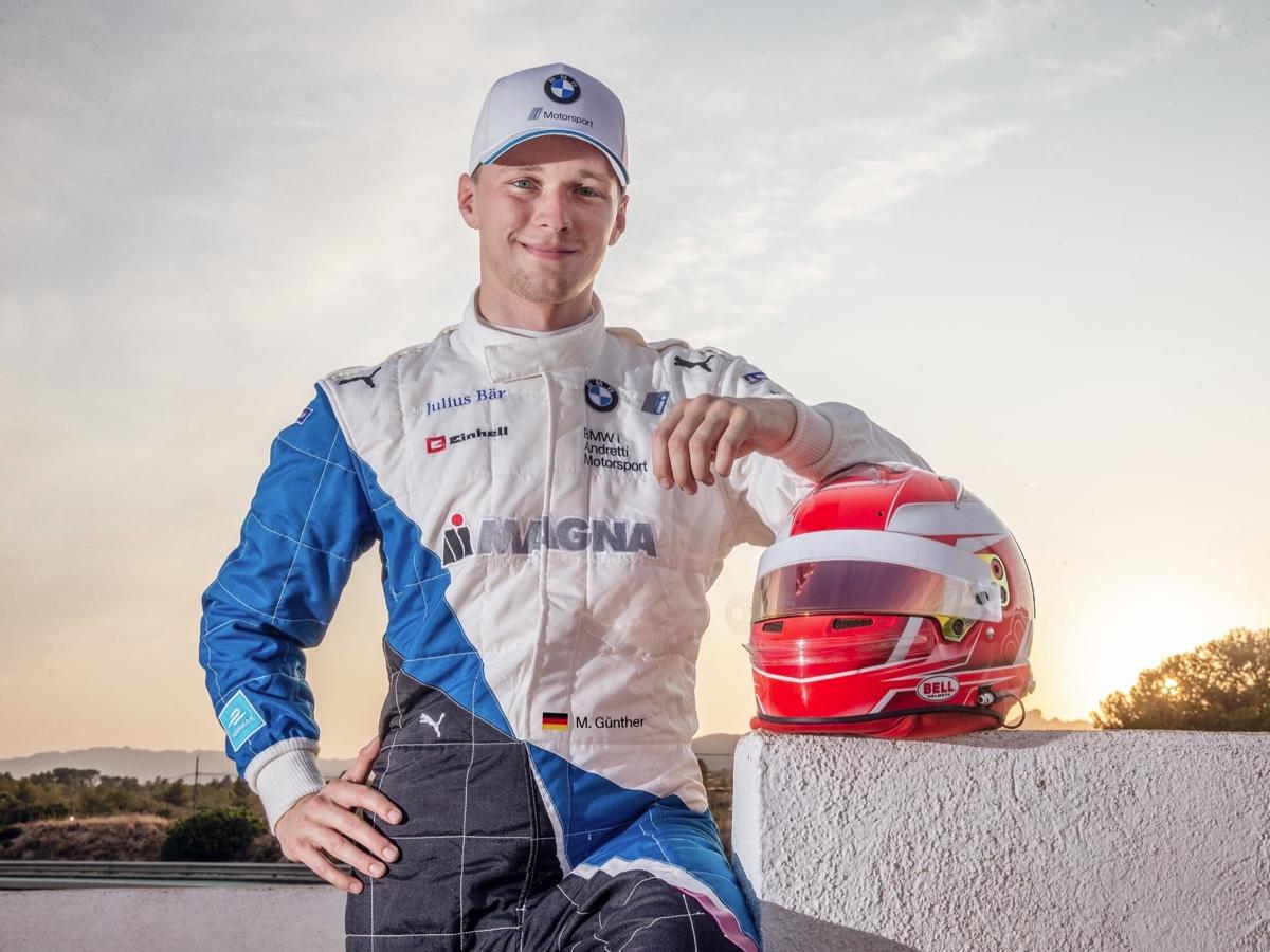 BMW Formula E Maximilian Günther