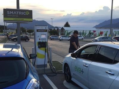 Attive in Italia e Austria le 200 stazioni di ricarica del progetto EVA+