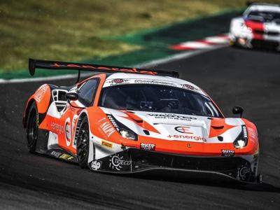 Campionato italiano GT: podio e trionfo nella Pro-Am per Ferrari