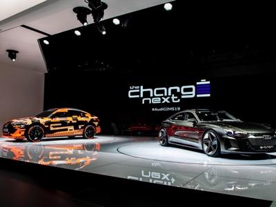 LA auto show - Audi e-tron Sportback world debut