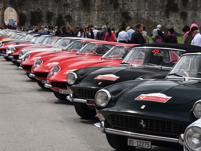 The Ferrari Cavalcade Classiche to parade through Rome from 20 to 22 of September