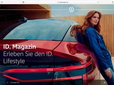 Volkswagen brand launches new global website