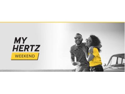 "Hertz amplia ""My Hertz Weekend"" a Germania, Francia, Spagna e UK"