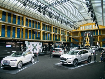 E-DS Week: with E-Tense, DS Automobiles is electrifying Paris